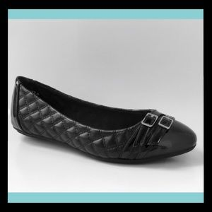 CL By CHINESE LAUNDRY Black Ballet Flat NEW 7 NIB
